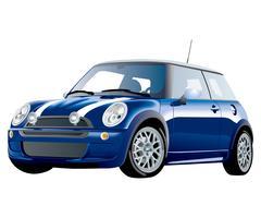 Auto illustratie ontwerpsjabloon