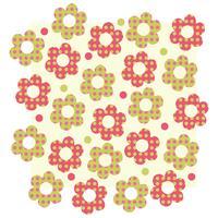 Bloem patroon vector ontwerp illustratie sjabloon