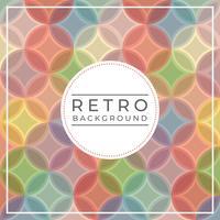 Platte Vintage Retro Vector achtergrond
