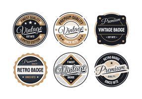 Retro Badge-collectie