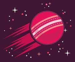 Cricket Ball Illustratie