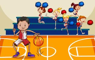 Basketbal vector