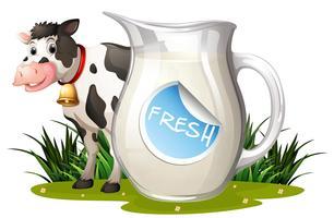 Verse melk vector