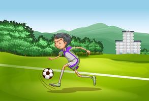 Voetbal vector