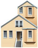 Huis vector