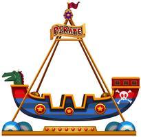 Viking rit in carnaval vector