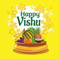 Het nieuwe jaar van Vishu Keralas