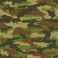 Abstract breien naadloze textuur. Militaire decoratieve Camouflage patroon achtergrond. Vector illustratie.