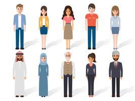 Mensen karakters