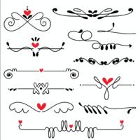 Hand getrokken geschetst lijn kunst vectorillustratie van de grenshuwelijk vector