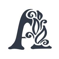 Letter A logo pictogram ontwerpsjabloon elementen belettering vector teken