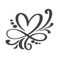 Hart liefde teken voor altijd