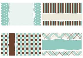 Gescheurde Vector Wallpaper Pack
