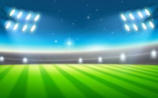 Een achtergrond van het voetbalstadion vector