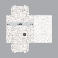 Box verpakking ontwerpsjabloon vector
