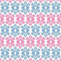 Naadloze sier bloemenpatroonachtergrond vector