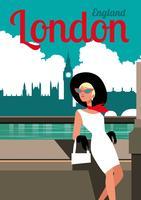 Londen vector