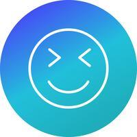 Knipoog Emoji Vector Icon