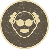 Mannelijke wetenschapper Vector Icon