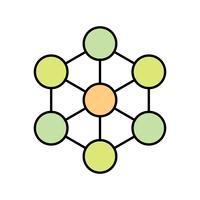 Molecuul Vector Icon