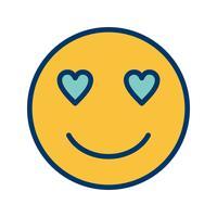 hou van emoji vector pictogram