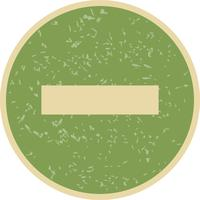Minus Vector-pictogram