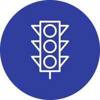 Vector lichtsignalen pictogram