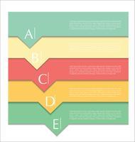 Modern ontwerp abstracte sjabloon vector