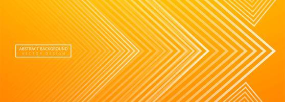 Mooie creatieve geometrische banner vector