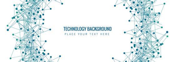 Abstracte technologie banner sjabloon achtergrond