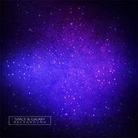 Galaxy in ruimteschoonheid van universum kleurrijke achtergrond vector