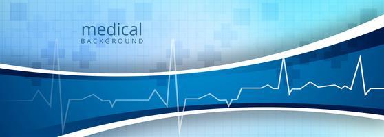 Gezondheidszorg en medische banner sjabloon achtergrond vector