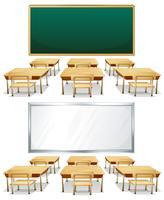 klaslokalen vector