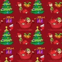 Kerst verpakking vector