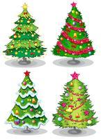 kerstbomen vector
