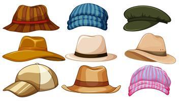 hoeden vector