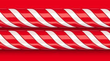 Hoog gedetailleerd rood suikergoedriet, vectorillustratie