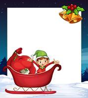 Kerst banner vector