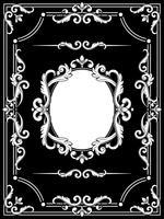 Stel verzamelingen prachtige frames in vector