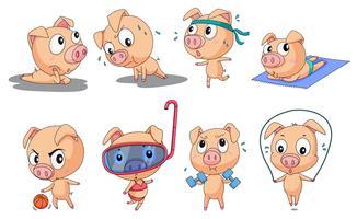 piggies vector