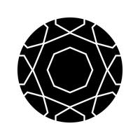 Voet bal Glyph Black pictogram
