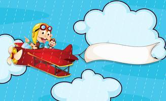 aap in vliegtuig