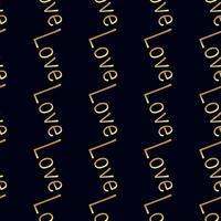 Naadloos gouden patroon. vector