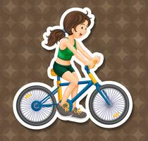 fietsen vector