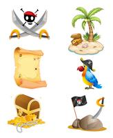Dingen gerelateerd aan een piraat