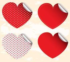 Valentine-sticker vector