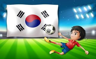 Voetbalspeler Zuid-Korea