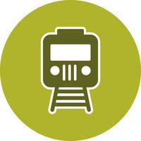 Vector trein pictogram