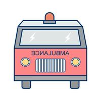 Vector Ambulance pictogram
