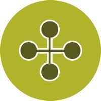 Vector Link gebouw pictogram